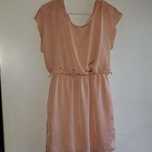 Light Blush Pink- •City Triangles• | Flutter Dress
